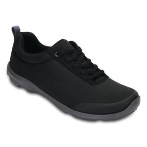 Crocs Busy Day Stretch Lace-Up Sneakers Black 9